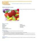 Fresh and fruity salad
