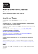 Malorie Blackman Learning Resources