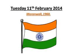 Tuesday 11th February 2014 -  moranwali.pptx