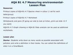 AQA B1-4.7 Measuring environmental change.pptx
