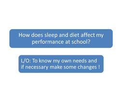 EATING,SLEEPING AND LEARNING.