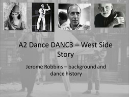 Jerome Robbins - Background and dance history