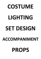Constituent features sort cards