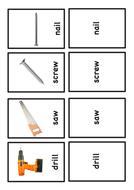 Building Site Flash Cards
