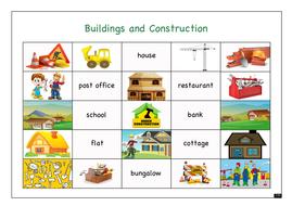 Building Site Word Mat