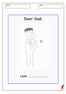 Father's Day Letter Template