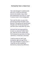 The Road Not Taken by Robert Frost.docx