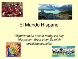 en el mundo hispanico cd1 in spanish and english edition