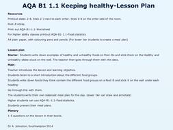AQA-B1-1.1-Keeping healthy.pptx