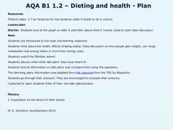 AQA-B1-1.2-Dieting and health-Lesson 2.pptx