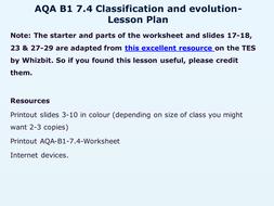 AQA-B1-7-Evolution