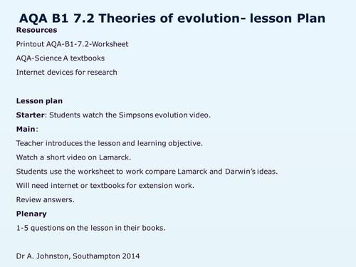 Evolution Worksheets High School : All worksheets evolution for high school