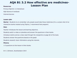 AQA-B1-3.2-How effective are medicines.pptx