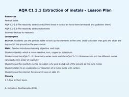 AQA-C1-3.1-Extracting metals.pptx