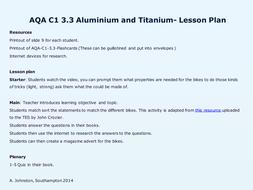 AQA-C1-3.3-Aluminium and Titanium.pptx