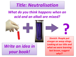 Neutralisation Lesson with resources by rcmcauley | Teaching Resources