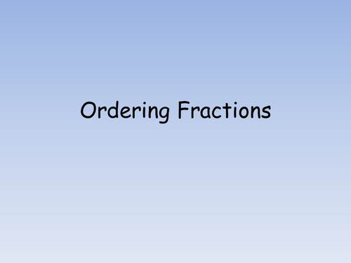 Number Names Worksheets ordering fractions from least to – Ordering Fractions Least to Greatest Worksheet