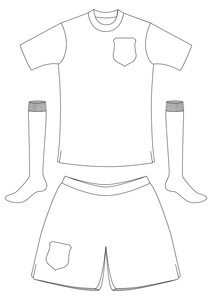 World Cup football strip templates by TES Resources Team