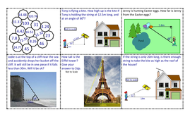 Functional & problem solving trig questions