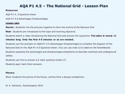 AQA-P1-4-Generating electricity by WonderCaliban - Teaching ...