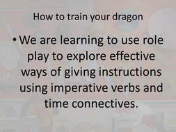 How to train your dragon lesson ideas/ resources