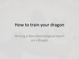 How to train your dragon Week.pptx