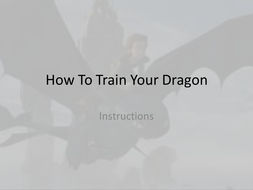 How To Train Your Dragon week 2 instructions.pptx