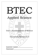L3 National Applied Science Unit 1 physics section by