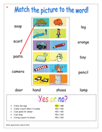 Basic vocabulary building activities for EAL by emitasmall ...