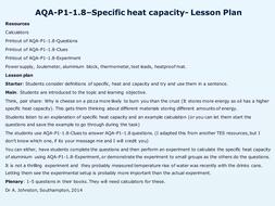 AQA-P1-1.8-Specific heat capactity.pptx