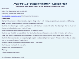 AQA-P1-1.3-States of matter.pptx