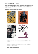 Design your own iron man book cover