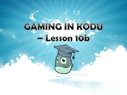 Kodu Debugging and Create a specified Game