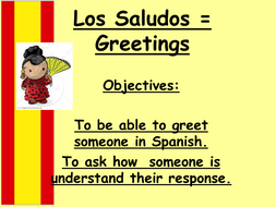 Greetings in spanish by judithdiva teaching resources tes greetings in spanish m4hsunfo
