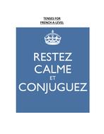 Tense Guides - KS3/4/5