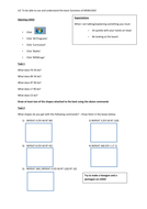Introduction to LOGO worksheet