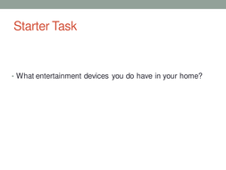 Home Entertainment Systems.pptx