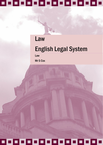 tmac legal studies notes pdf