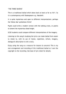 THE THREE RAVENS - LESSON IDEAS.docx
