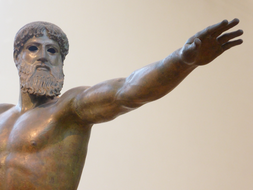 ZEUS OR POSEIDON? - AMAZING SCULPTURE