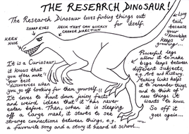 THE RESEARCH DINOSAUR