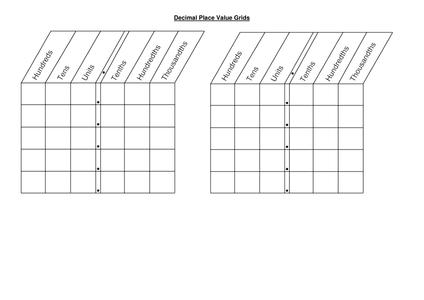 decimal place value adding subtracting decimals resources tes. Black Bedroom Furniture Sets. Home Design Ideas