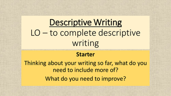descriptive essay help course work