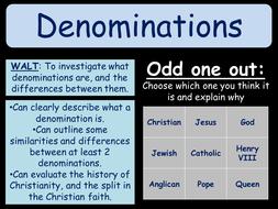 Christian Denominations