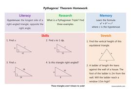 Pythagoras Homework