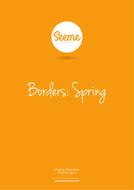 Spring Border Template