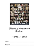 Literacy Homework booklet