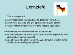 Your school described mit Aktivitaeten