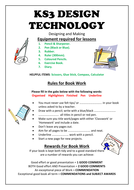 KS3 rules for your book - sheet