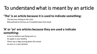 To understand what is meant by an article (Week 1).pptx